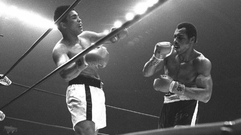 Ken Norton upset Muhammad Ali at the Sports Arena on March 31, 1973.