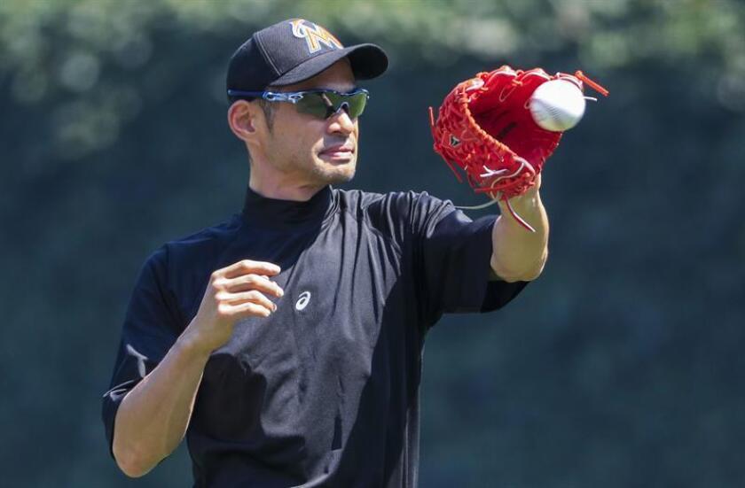 El jugador Ichiro Suzuki. EFE/Archivo