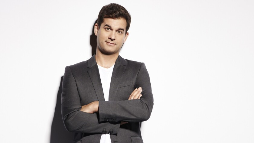 """Michael Kosta in """"The Comment Section"""" on E!"""
