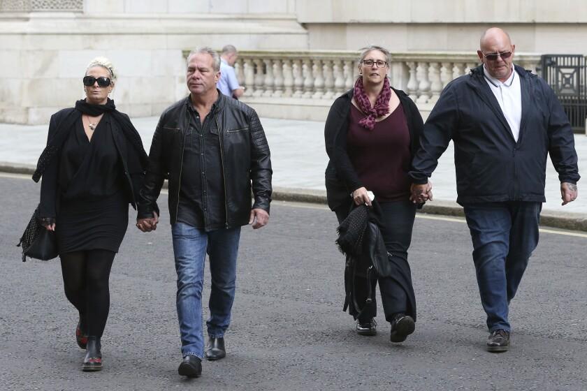 Britain US Diplomat's Wife