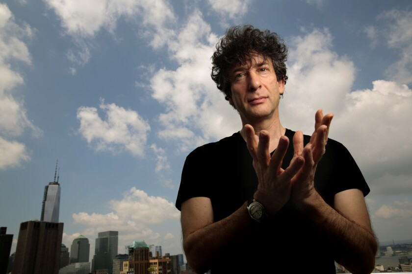 Author and filmmaker Neil Gaiman has welcomed his fourth child, and his first with second wife Amanda Palmer.