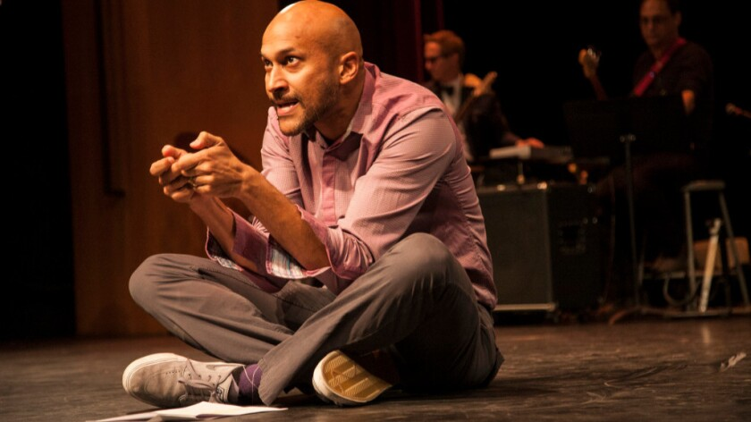 Keegan-Michael Key at last year's Young Storytellers show.