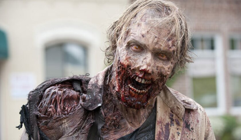 """The mid-season premiere of """"The Walking Dead"""" had solid ratings."""