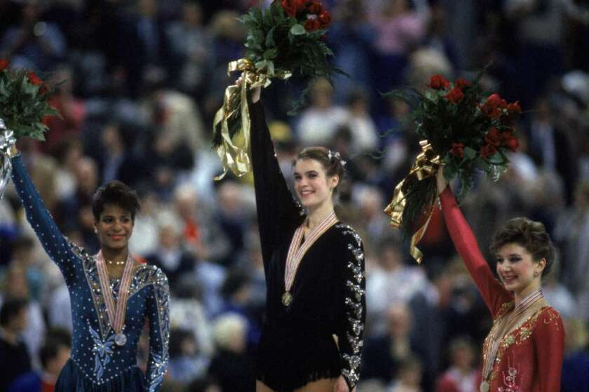 Katarina Witt, the Cold War's secret weapon, in ESPN's 'The Diplomat'