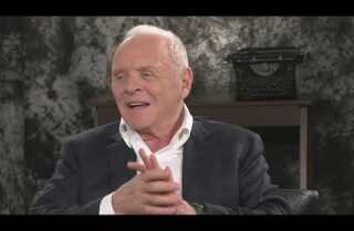 Anthony Hopkins of 'The Dresser' talks about what drove him to walk out of a play he was in