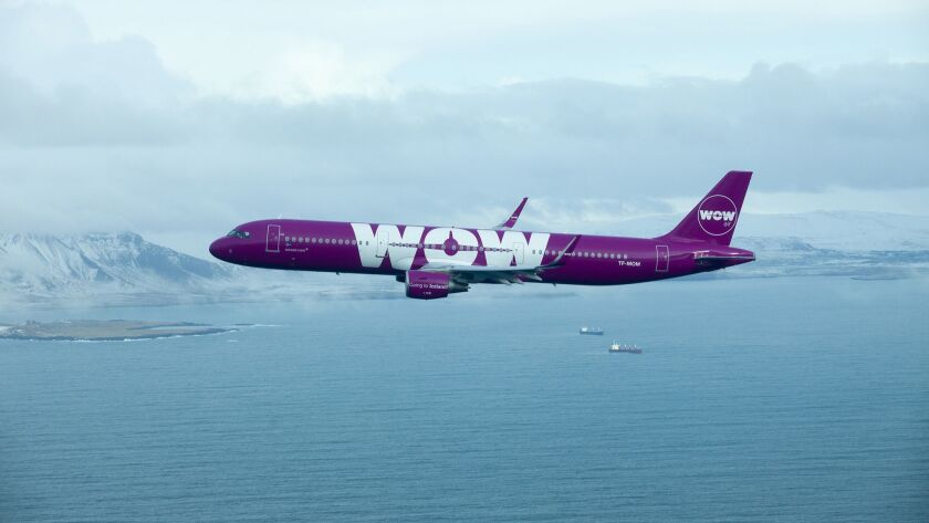 Wow Air, based in Reykjavík, Iceland, started LAX service in 2015.