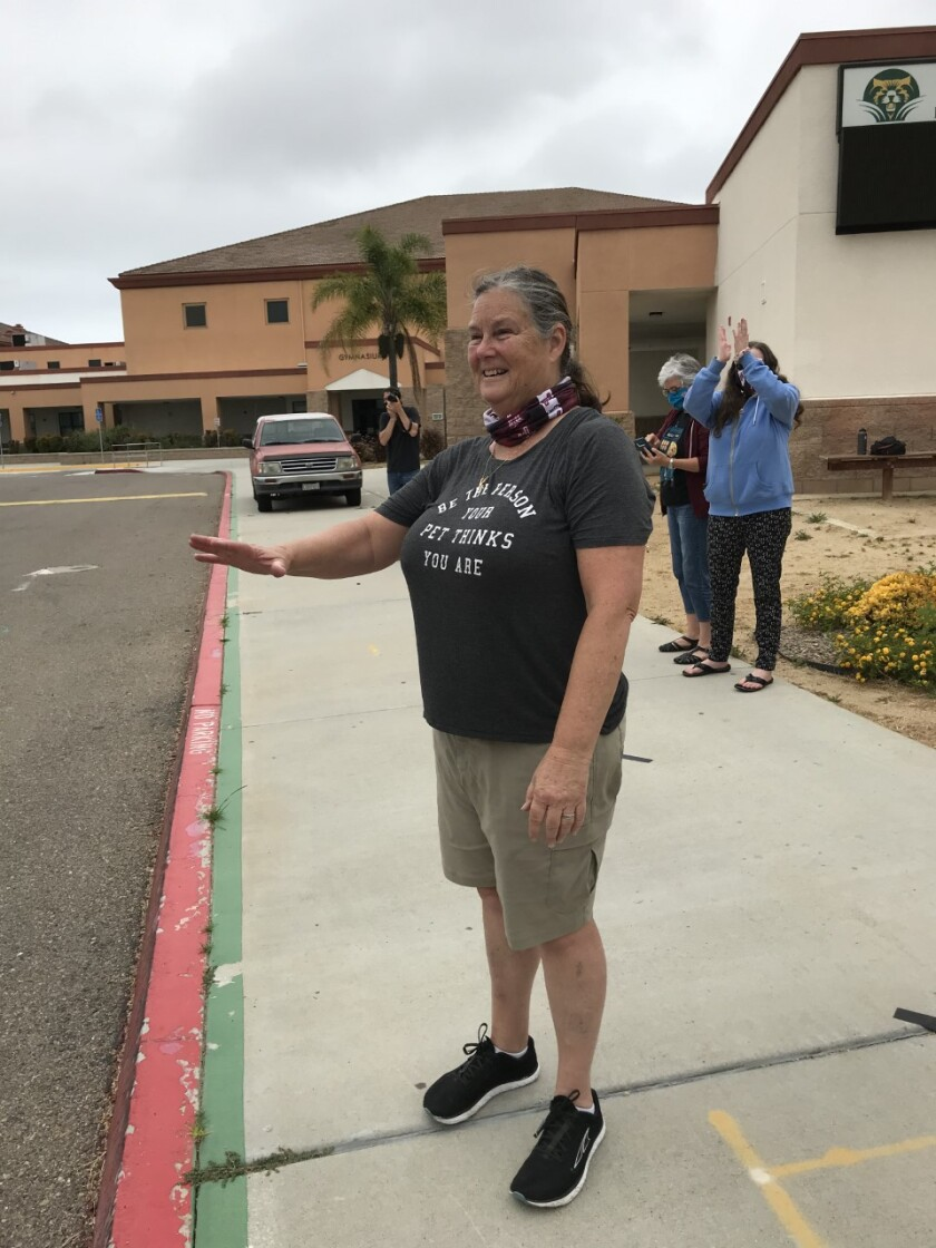 Katrina Peterson retired from Carmel Valley Middle School after 21 years.