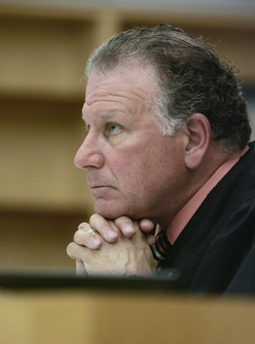 Vista Superior Court Judge Harry M. Elias