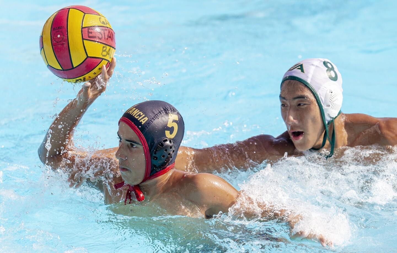 Photo Gallery: Estancia vs. Rancho Alamitos in boys' water polo