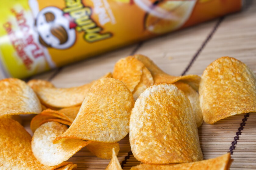 An Irish woman was sentenced to two months in prison after she opened a $1.57 can of Pringles without paying.