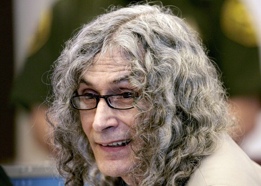 Rodney Alcala, a former death row inmate who was twice convicted of the 1979 killing of a 12-year-old Huntington Beach girl