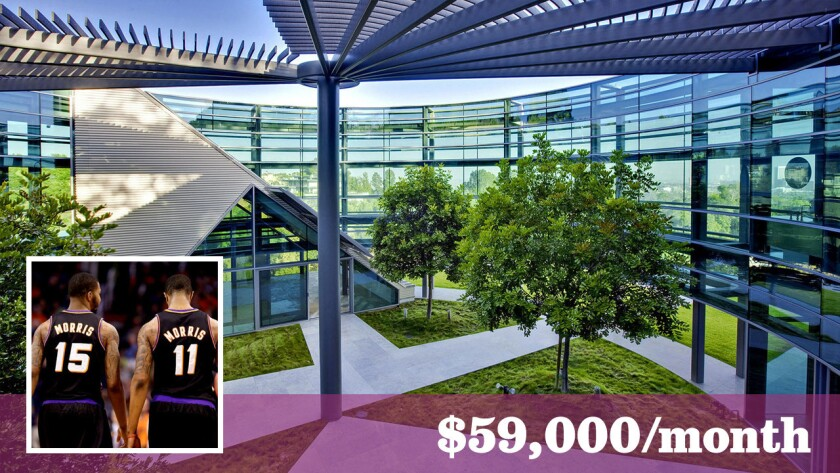 The circular glass house in Beverly Hills offered for short- and long-term lease has drawn celebrities such as Justin Bieber and NBA players Markieff and Marcus Morris.