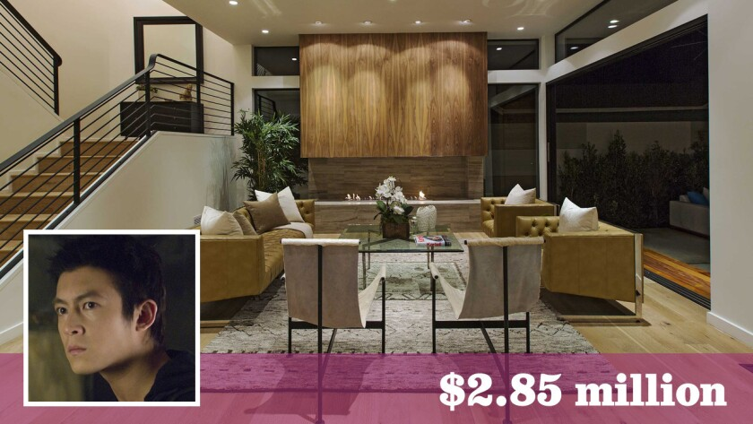 Hong Kong film actor and entrepreneur Edison Chen has bought a contemporary-style home in the Larchmont area of Los Angeles for $2.85 million.