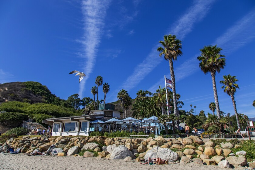 The Boathouse on Hendry's Beach in Santa Barbara has a good brunch if breakfast isn't included in your hotel stay.