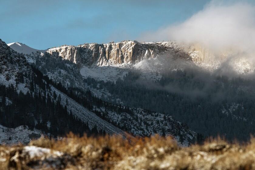 Mammoth Mountain, Saturday morning.