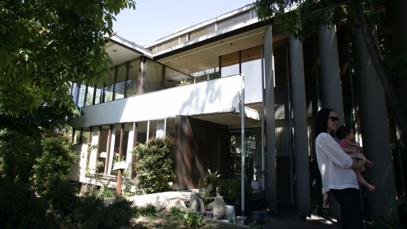 The Neutra VDL Research House in Silver Lake.