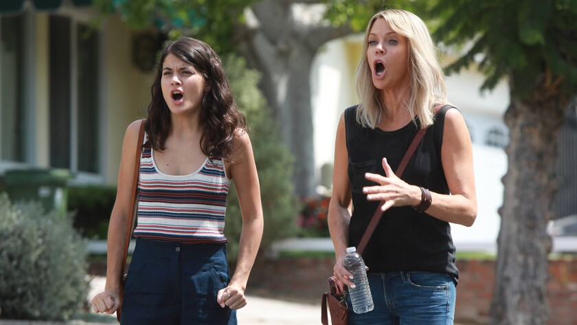 "Sofia Black-D'Elia, left, and Kaitlin Olson in ""The Mick"" on Fox."