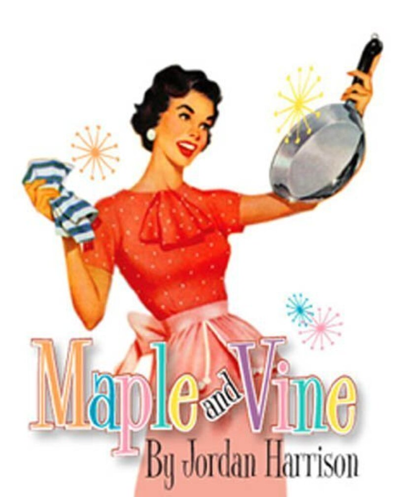 An affluent couple joins a colony of re-enactors, who idealize the 1950s, in the Southern California premiere of 'Maple and Vine' at Cygnet Theatre in Old Town.