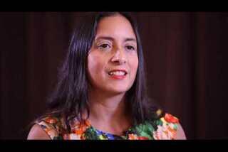 Lilliam Rivera at the Festival of Books