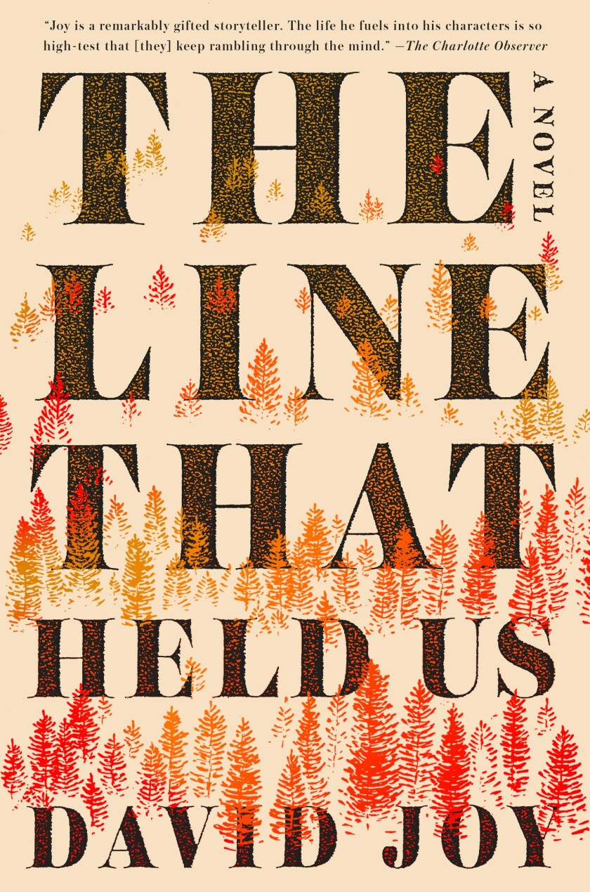 "A book jacket for David Joy's ""The Line That Held Us."" Credit: G.P. Putnam's Sons"