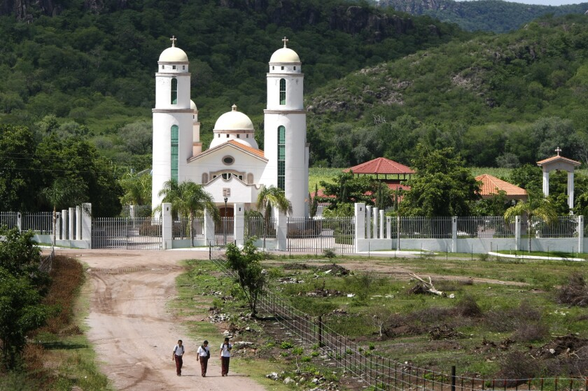 The Sinaloa, Mexico, estate of Victor Emilio Cazares Gastelum, an alleged kingpin in the Sinaloa drug cartel.