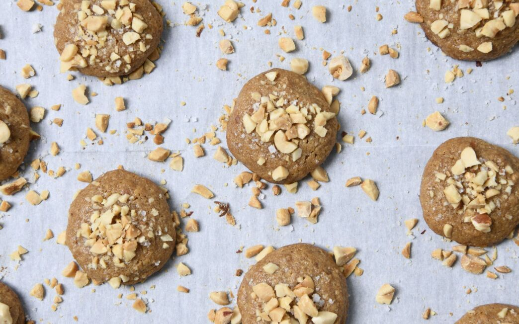Salted Chunky Peanut Butter Cookies Recipe - Los Angeles Times