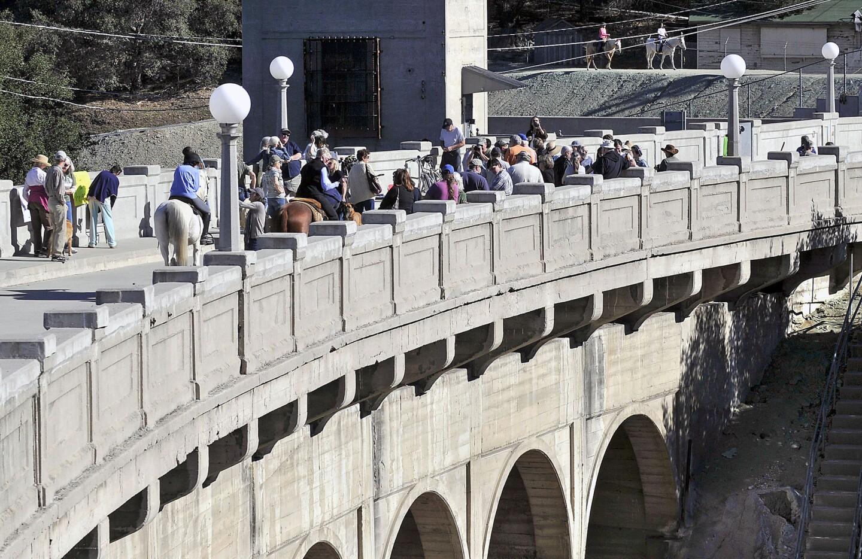 Photo Gallery: Devil's Gate Dam protest