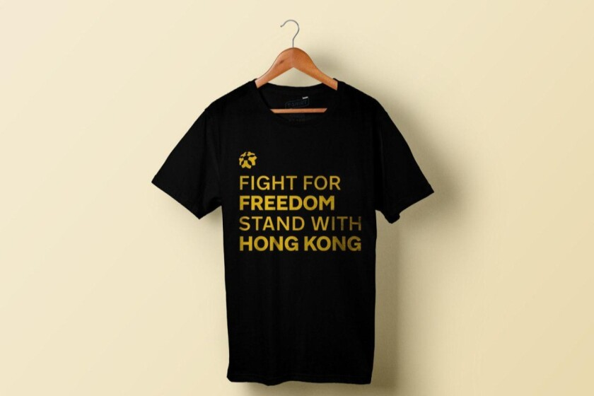 Hong Kong supporters gather before Lakers-Clippers game