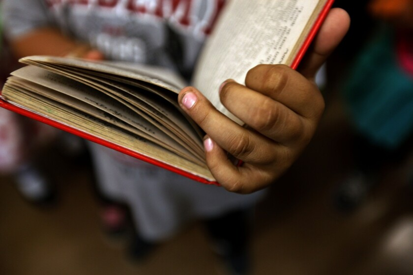 Access Books is working to renovate school libraries across L.A.