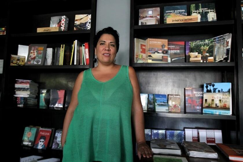 """Paulina Sánchez, directora de la cinta """"Hotel de Paso"""""""