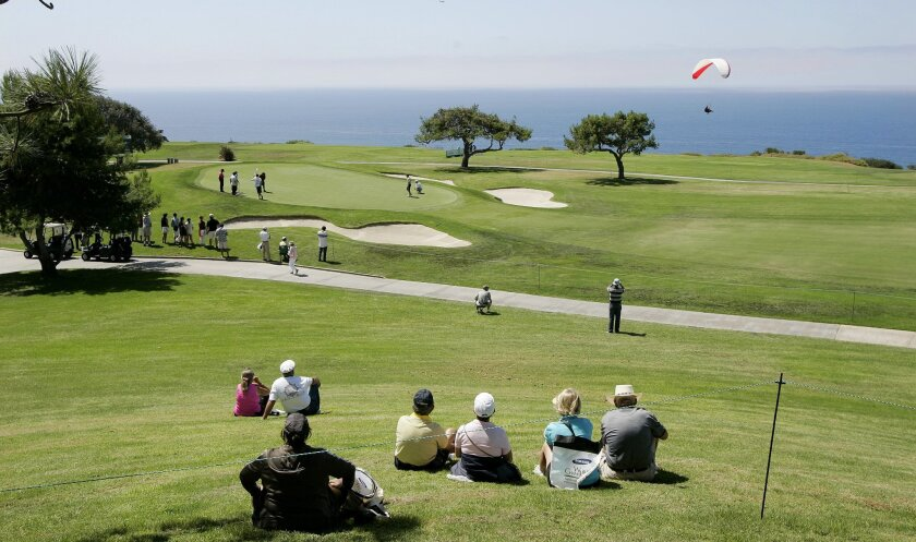 Torrey Pines Golf Course for the first time is host of the LPGA's Samsung World Championship tournament starting today. The tour rolls into San Diego amid a tumultuous year marked by leadership upheaval and sponsorship decline. (Eduardo Contreras / U-T)