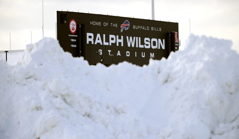 Nfl Report Free Tickets For Bills Jets Game In Detroit Los Angeles Times