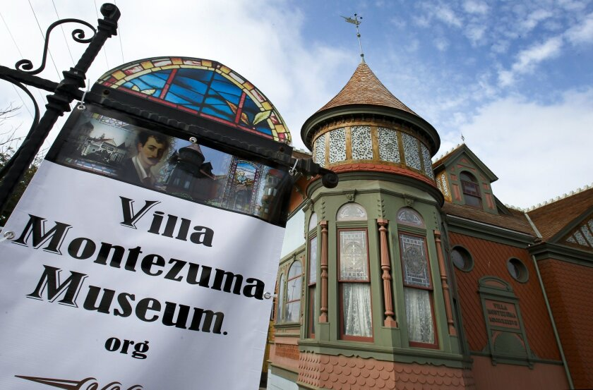 The Villa Montezuma, located at 20th and K streets in Sherman Heights, was restored with the help of $882,500 in federal community development block grants.