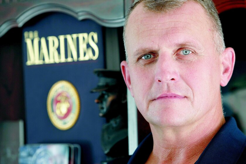 Sgt. Maj. Mark O'Loughlin retired in July after 30 years in the Marine Corps. O'Loughlin had nine deployments and was a leader with the Wounded Warrior Battalion West.