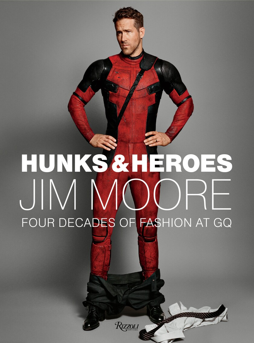 """Hunks & Heros: Jim Moore Four Decades of Fashion at GQ"""