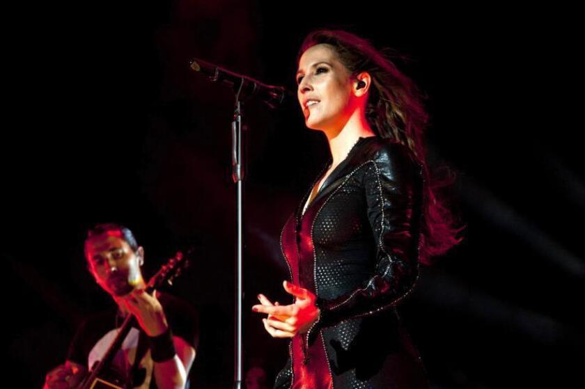 La cantante Malú. EFE/Archivo