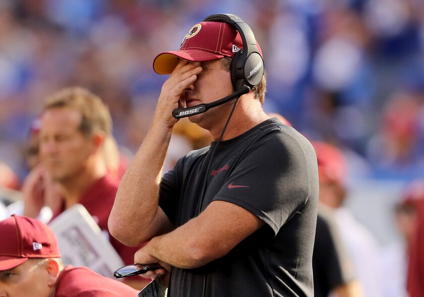 Jay Gruden was fired at 5 a.m. That's harsh but definitely not the most brutal firing ever