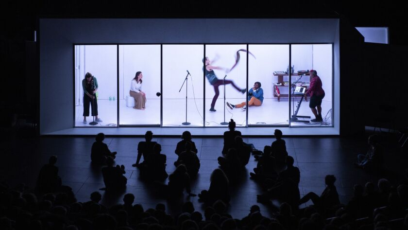 "UCLA's Center for the Art of Performance will present Lars Jans' multimedia performance piece the ""W"