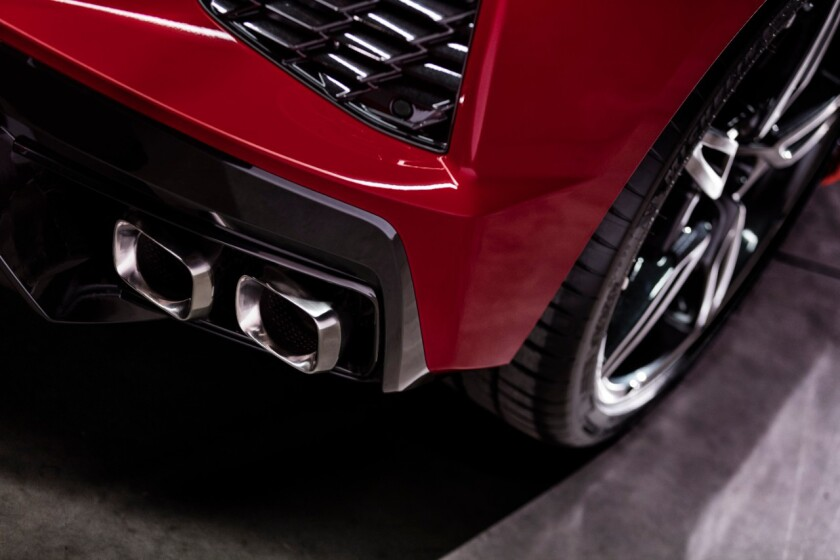The exhaust has a familiar Corvette crackle in Sport mode.