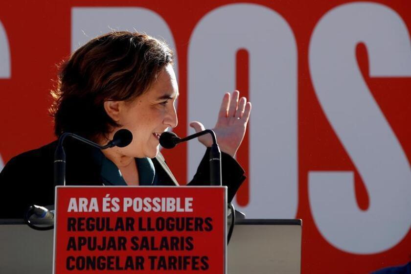 La alcaldesa de Barcelona, Ada Colau. EFE/Archivo