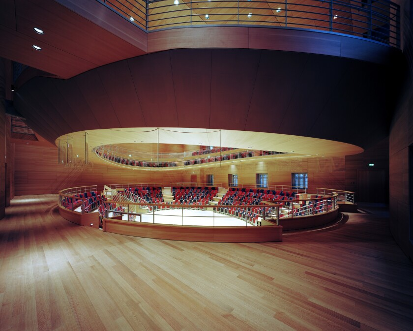 Pierre Boulez Hall, by Frank Gehry