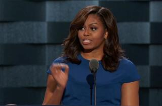 Watch Michelle Obama address the Democratic National Convention