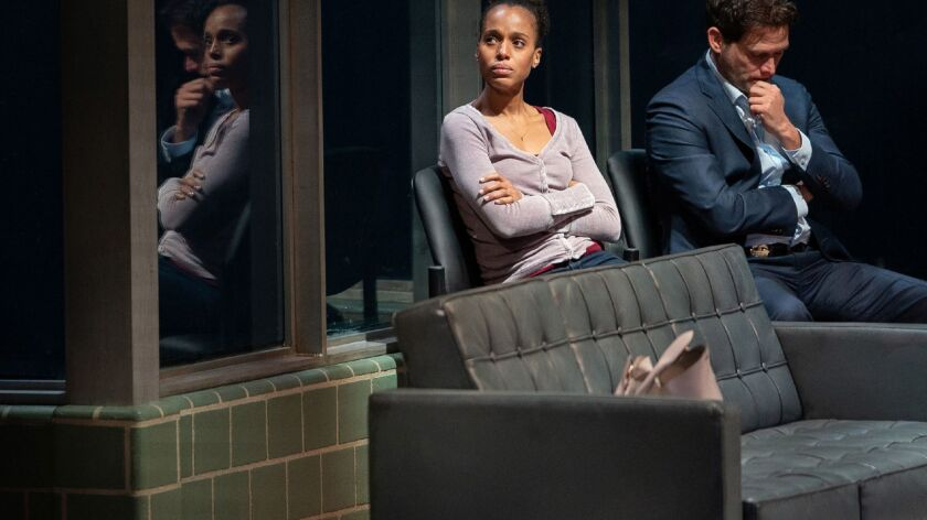 Kerry Washington, Steven Pasquale star in 'American Son' on Broadway