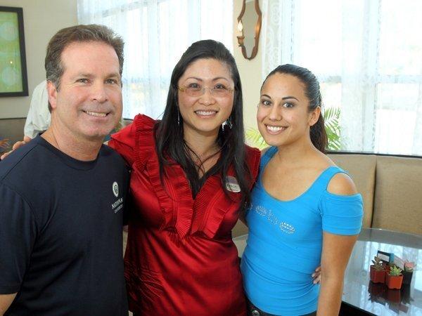 Dave Hokstad, Manlai Tam, Samantha Sanchez