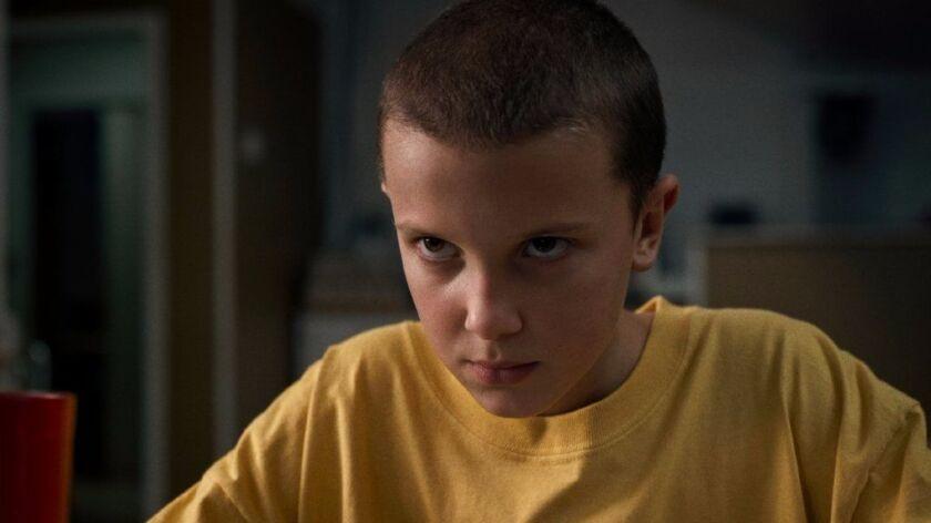 """Millie Bobby Brown in Netflix's """"Stranger Things."""""""