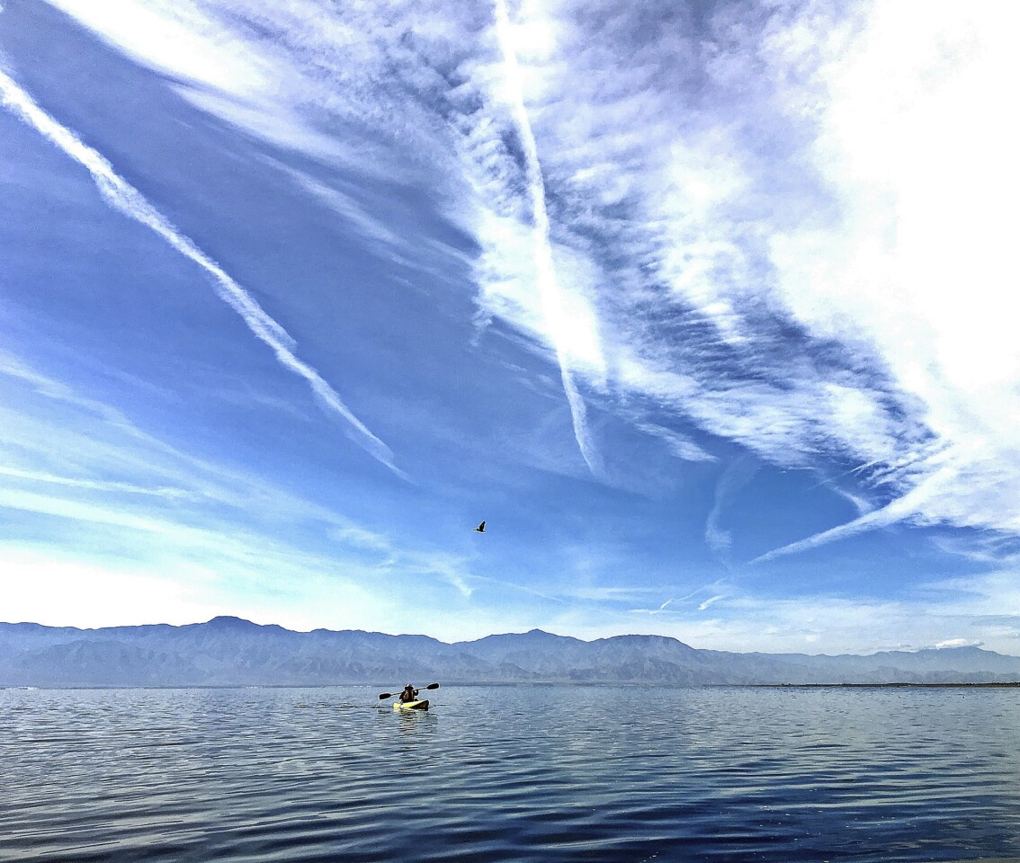 Weekend getaway to the Salton Sea