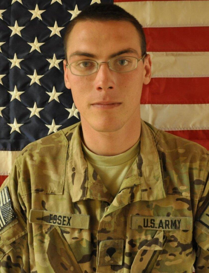 Sgt. Richard A. Essex, 23, of Kelseyville, Calif., died Aug. 16, 2012, in a helicopter crash northeast of Kandahar, Afghanistan.