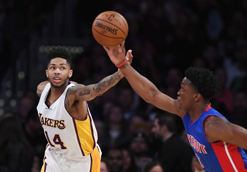 La juventud no es excusa para los Lakers.