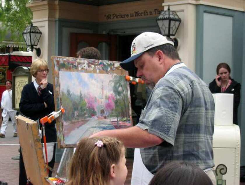 Thomas Kinkade in 2004.