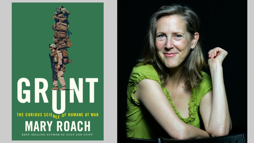 """Mary Roach and her new book, """"Grunt"""""""